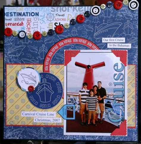 scrapbook layout ideas cruise 9 best images about crucero on pinterest trips