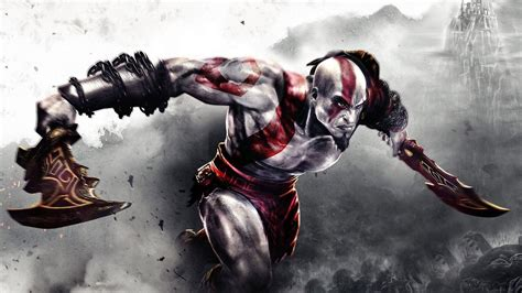 ps3 themes hd god of war kratos hd wallpapers group 71