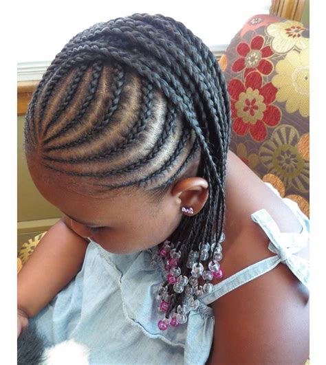 little girl hairstyles braided to the side braided hairstyles for little black girls with different