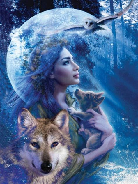 imagenes mujeres lobas wolf and woman wolves
