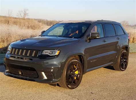 trackhawk jeep black 2018 jeep grand cherokee trackhawk savage on wheels