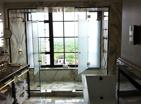 public bathroom central park viceroy new york a hotel life