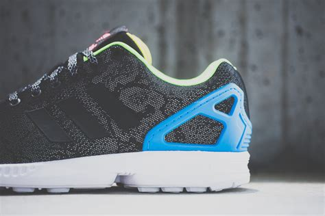 Adidas Zx Flux Reflection adidas zx flux black reflective snake freshness mag