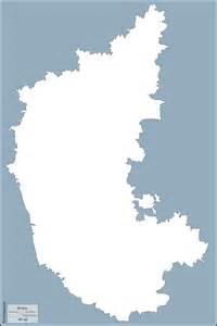 Karnataka Outline Map by Karnataka Free Map Free Blank Map Free Outline Map Free Base Map Outline
