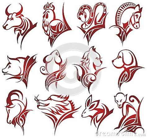 signes chinois de zodiaque illustration de vecteur image