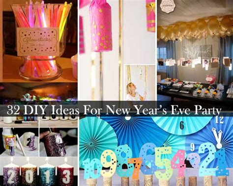 new year diy top 32 sparkling diy decoration suggestions for new years