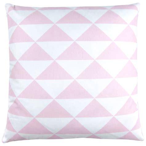 kissen pastell rosa kissen dimensions rosa pastell dreiecke geometrisch