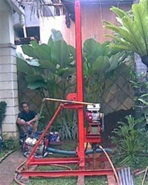Mesin Bor Portable pengeboran air tanah sumur bor artesis pasang pompa submersible pipa cassing sumur bor yang