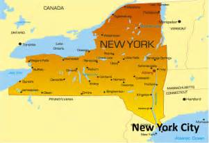 Show Me A Map Of New York by New York Map Usa