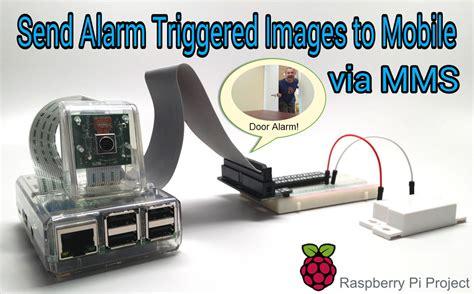 send security photos from raspberry pi via text