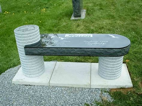 granite benches custom memorial benches granite benches smet monuments