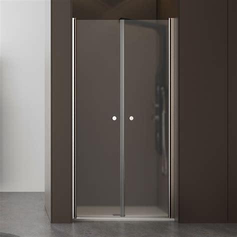 porta cristallo doccia box doccia porta saloon 100 cm cristallo opaco apertura