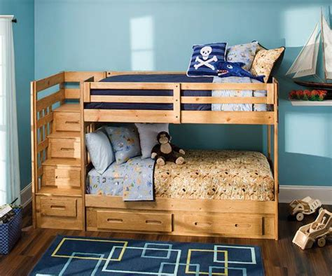 raymour and flanigan bunk beds adorable kids rooms from raymour flanigan boys blue
