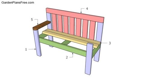 easy garden bench plans simple garden bench plans free garden plans how to
