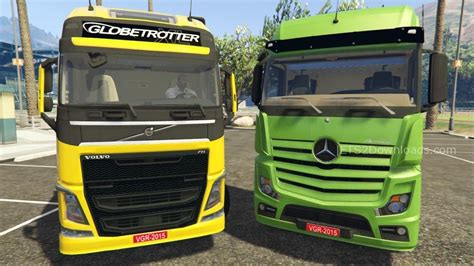 volvo truck series mb actros mpiv and volvo fh series reworked stock sound v2