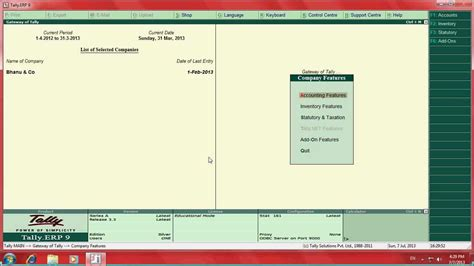 youtube tally tutorial payroll implementation in tally erp9 youtube