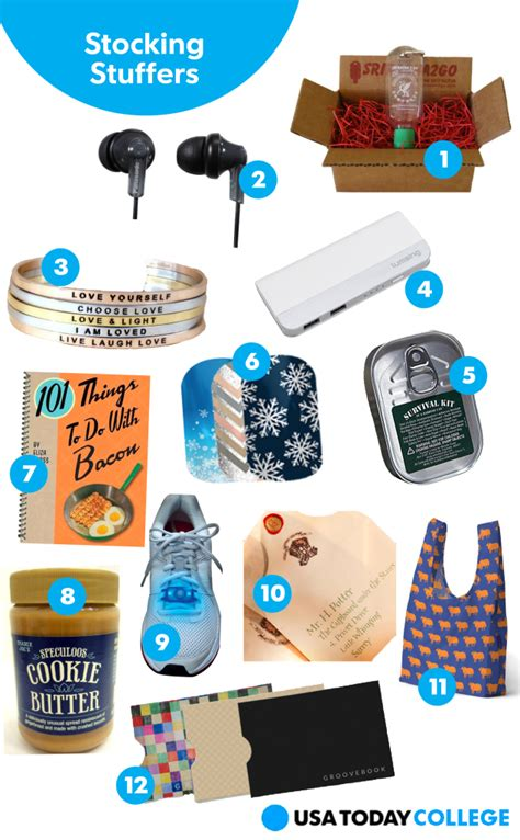 usa today college 2014 holiday gift guide stocking