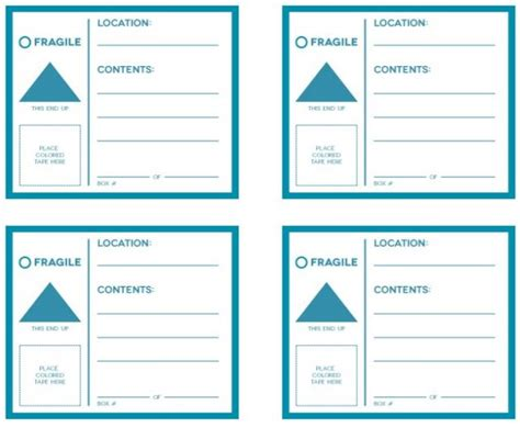 Free Printable Moving Box Labels Avery 5164 Tip Junkie Moving Labels Template