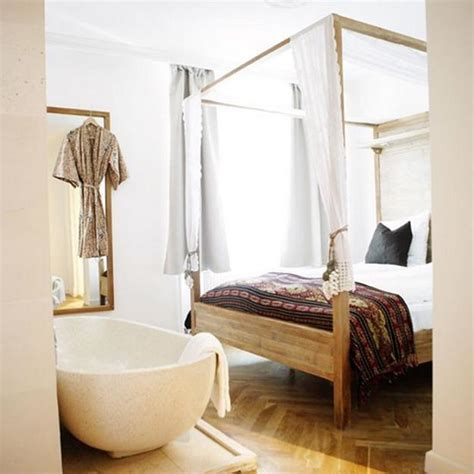 hotels with baths in bedrooms 30 all in one bedroom and bathroom design ideas for space