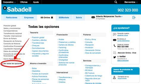 banco de sabadell empresas online c 243 mo autorizar un mandato b2b en banco sabadell