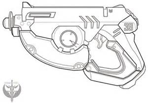overwatch tracer pulse gun blueprints from dysaniaprops on