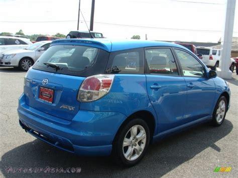Blue Toyota Matrix 2008 Toyota Matrix Xr In Speedway Blue Photo 4 718393
