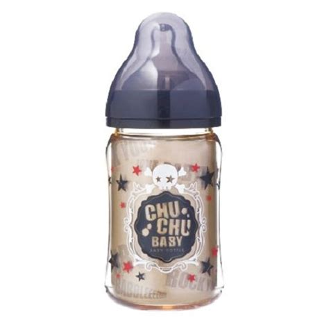 Chuchu Baby Ppsu Cawa Wide Caliber Feeding Bottle Black 240 Ml jual produk kebutuhan botol chuchu baby fedding