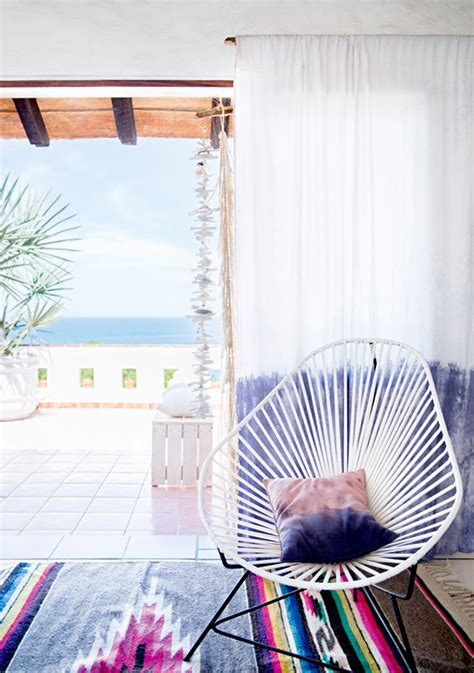 lovely summer home a lovely and cozy mexican summer home style files com