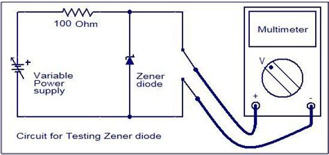 how to check a zener diode with digital multimeter how to test a diode electronic circuits and diagrams electronic projects and design