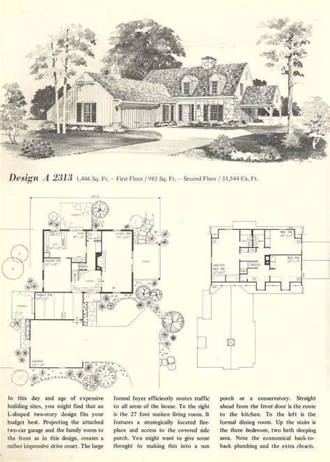 antique colonial house plans vintage house plans early colonial vintage house plans pinterest