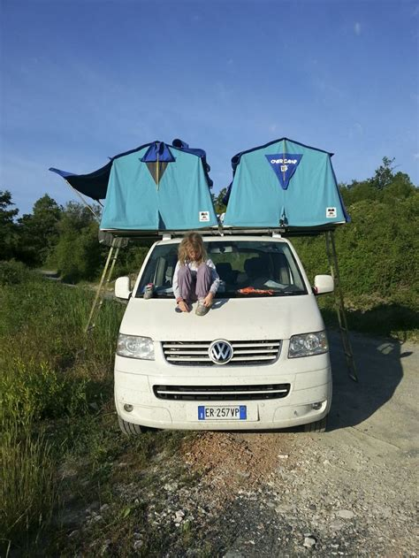 Vw T5 Tent Awning by Vw T5 Overc Tenda Da Tetto Roof Tent Maggiolina