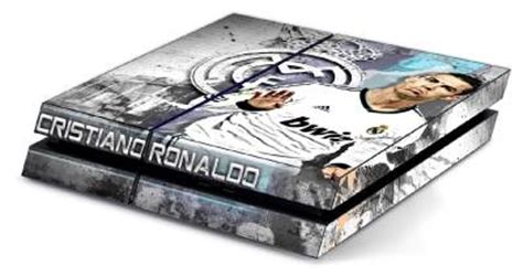 themes ps4 real madrid cristiano ronaldo ps4 skin vinyl decal for playstation 4