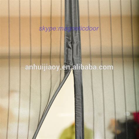 curtain magnet 100 polyester magnetic mosquito net door curtain buy