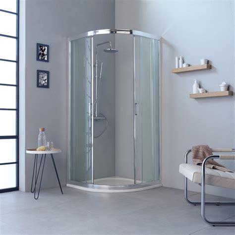 cabina doccia semicircolare box doccia semicircolare 90x90 profili flat economico kv