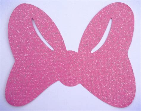 Duck Ribbon Baby Shower by Minnie Mouse Bow Cut Out