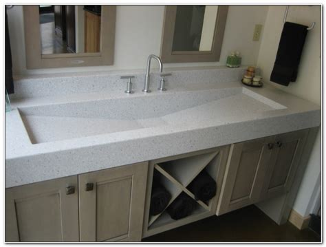 trough bathroom vanity double trough sink vanity sinks and faucets home