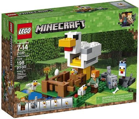 lego minecraft the chicken coop 21140 building kit (198