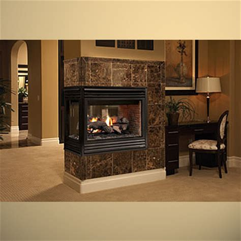Sided Ventless Fireplace by 3 Sided Gas Fireplace Logs Fireplaces