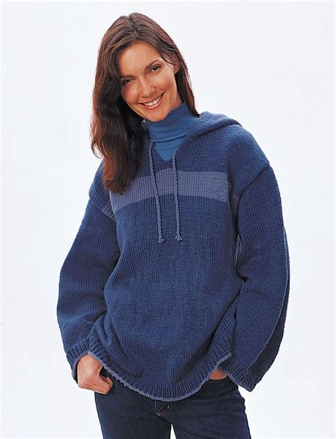 pattern hooded cardigan yarnspirations com bernat hooded sweatshirt patterns