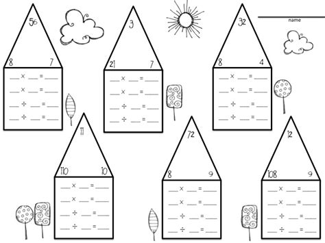 triangle multiplication flash card template 14 best images of multiplication triangles worksheets