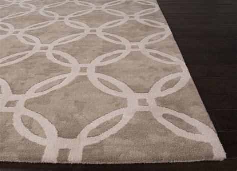 jaipur rugs transitional geometric pattern gray ivory wool