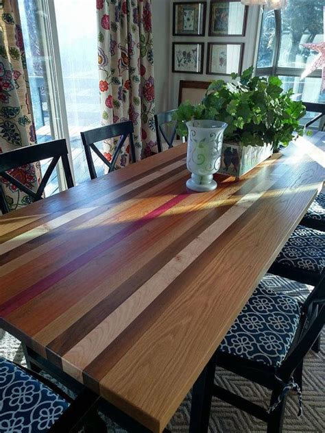 reclaimed exotic wood table custom  blowingrockwoodworks