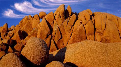 imagenes de paisajes rocosos formaciones rocosas en el desierto joshua tree fondos de