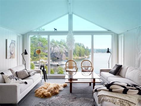 Small Bedroom Tub Chairs by Swedish Country House By The Water Idesignarch