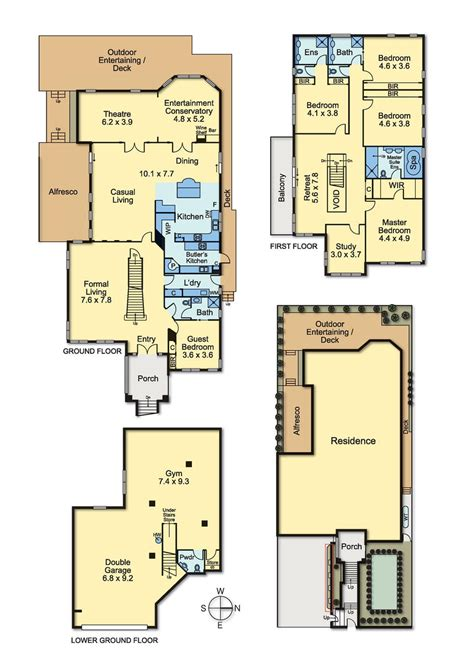 heather gardens floor plans the pinnacle of luxury family living docking real estate