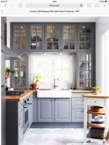 Ikea grey kitchen love the kitchen kitchens butcher blocks ikea