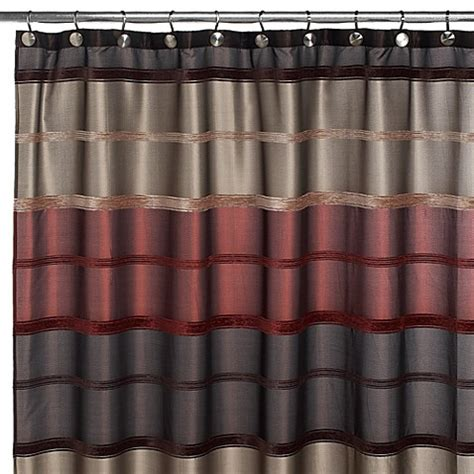 rust shower curtain buy bombay rust 72 inch x 72 inch shower curtain from bed