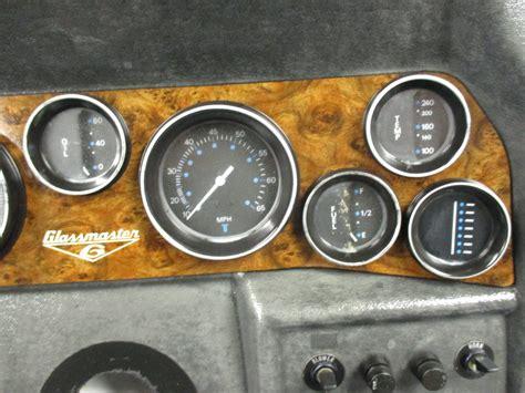 boat dash gauges glassmaster boat dash panel instrument cluster gauges