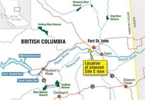 c map b c hydro ceo refuses to halt site c says amnesty report wrong warrior publications