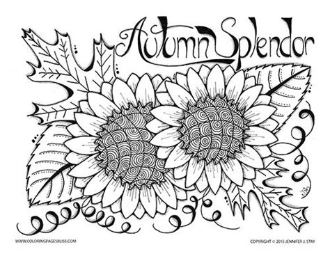 coloring pages of fall flowers 17 best ideas about fall coloring pages on
